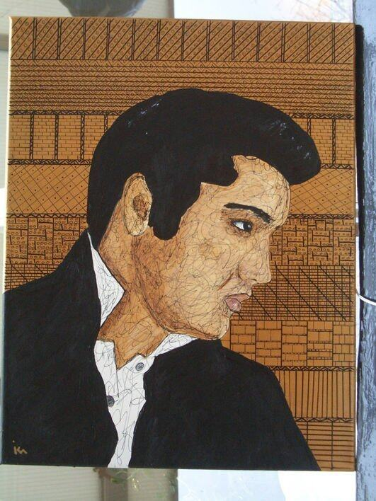 "<p>""Elvis"" By Kim Noble</p>"