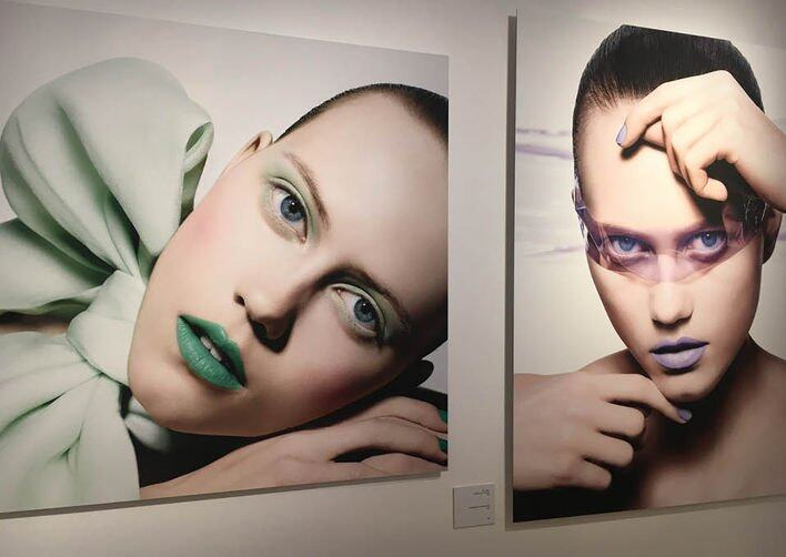 Dior, Art of Color 展覽中展出的 Peter Philips 作品