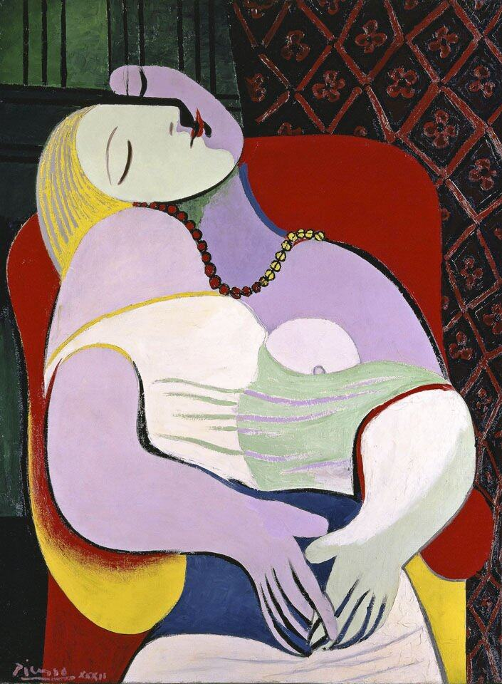 Pablo Picasso Le Reve (The Dream) 1932 Private Collection