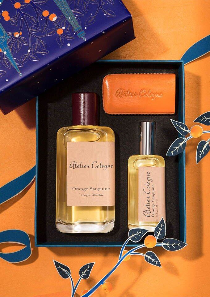 Atelier Cologne Orange Sanguine 赤霞橘光 30ml 組合