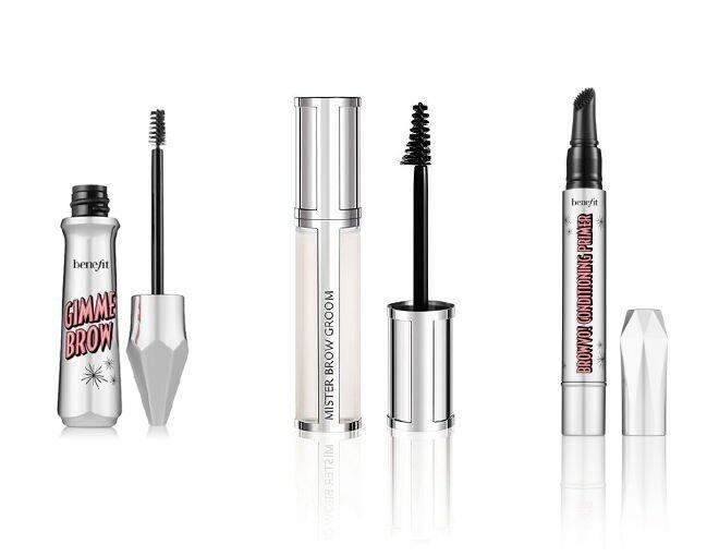 <p> Benefit Gimme Brow 豐眉膏 $230<br /> Givenchy Mister Brow 眉部提亮定型啫喱 $185<br />Benefit BROWVO! 眉毛底霜 $270</p>