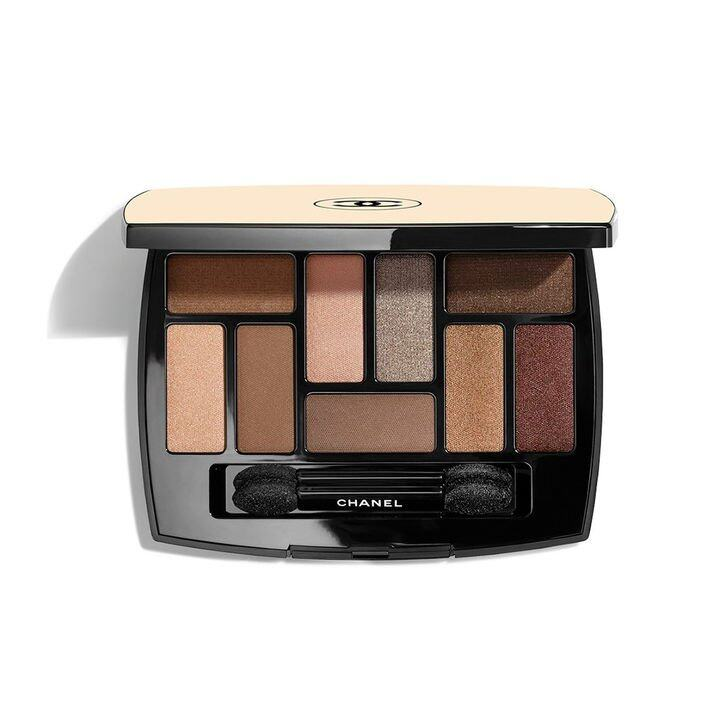 Chanel Les Beiges Natural Eyeshadow Palette 限量自然亮肌九色眼影 $735