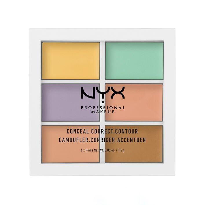 NYX Colour Correcting Concealer 六色遮瑕盤 價錢:$150