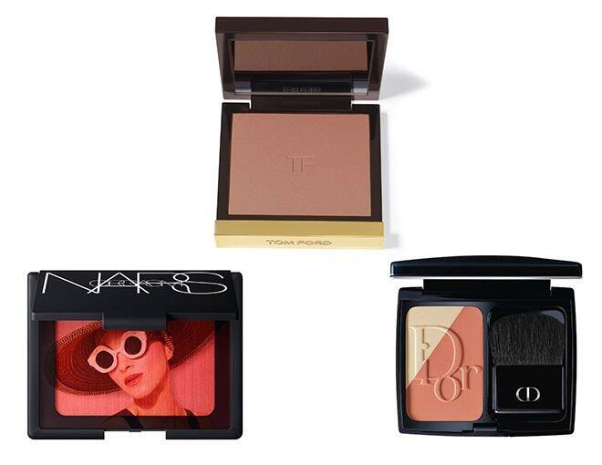 <p> Diorblush Light &amp; Contour $400<br /> Tom Ford Beauty Cheek Color $500<br />NARS Special Edition Orgasm Blush $340</p>