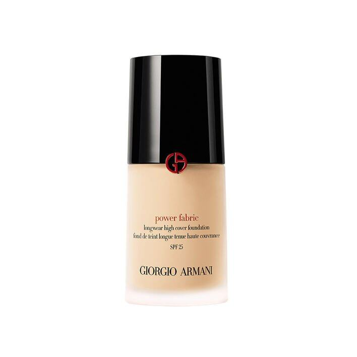 <p class='text-center ' style='text-align:center;'>Giorgio Armani Power Fabric SPF 25 $510</p>