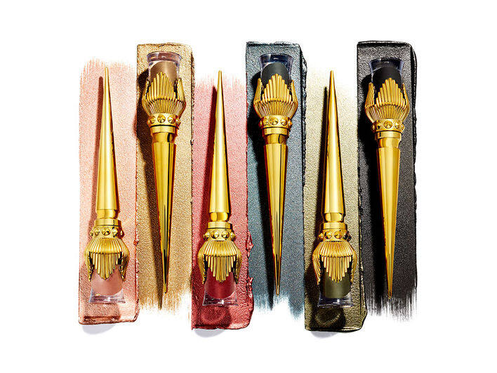 CHRISTIAN LOUBOUTIN Metallic金屬閃亮眼影 各$450/ 7ml