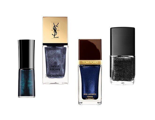 <p> NARS Nail Polish #Night Breed  $180<br /> YSL Laque Couture #N72 $210 <br /> Giorgio Armani NAIL LACQUER  #705  $190<br />TOM FORD Nail Lacquer #INDIGO NIGHT $280</p>