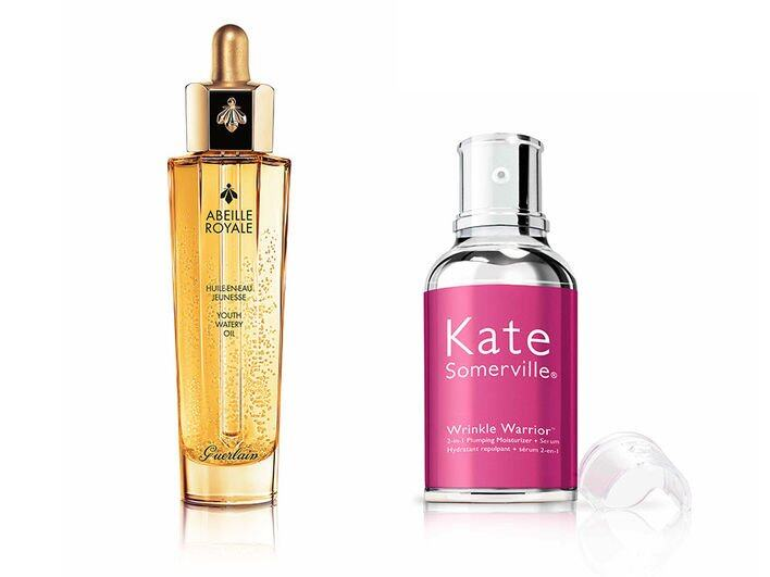 Guerlain Abeille Royale Youth Watery Oil $765 / 30ml Kate Somerville Wrinkle Warrior $990 / 50ml