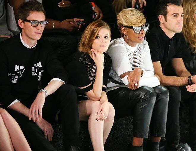 <p>Eddie Redmayne、Kate Mara、Mary J. Blige 及 Justin Theroux 成為 Alexander Wang for H&amp;M 時裝騷的 front row guests。 </p>