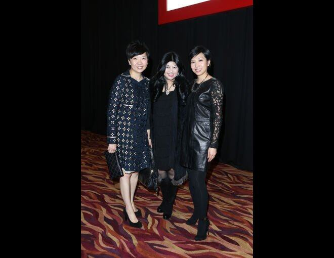 <p>SCMP Hearst Publications Limited 董事總經理 Ms. Josephine Chan、Shiseido General Manager May Law 及 Harper's Bazaar 出版人 Ms.Amy Cheng。</p>