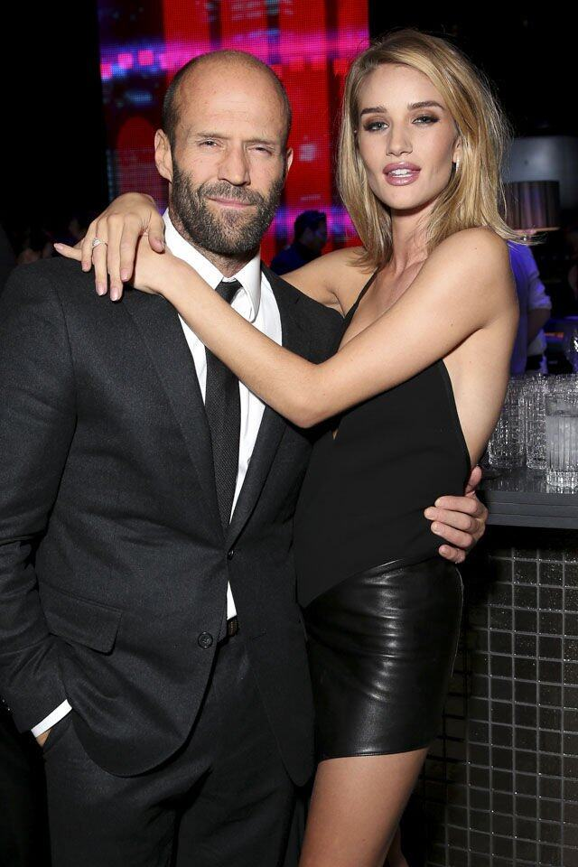 Jason Statham 和 Rosie Huntington-Whiteley