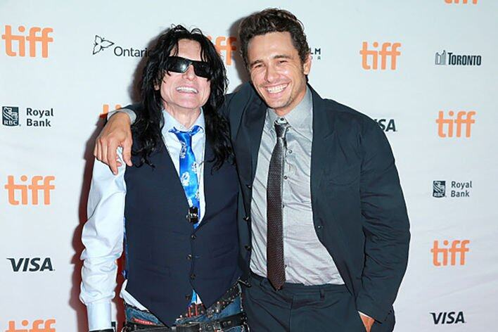 James Franco and Tommy Wiseau