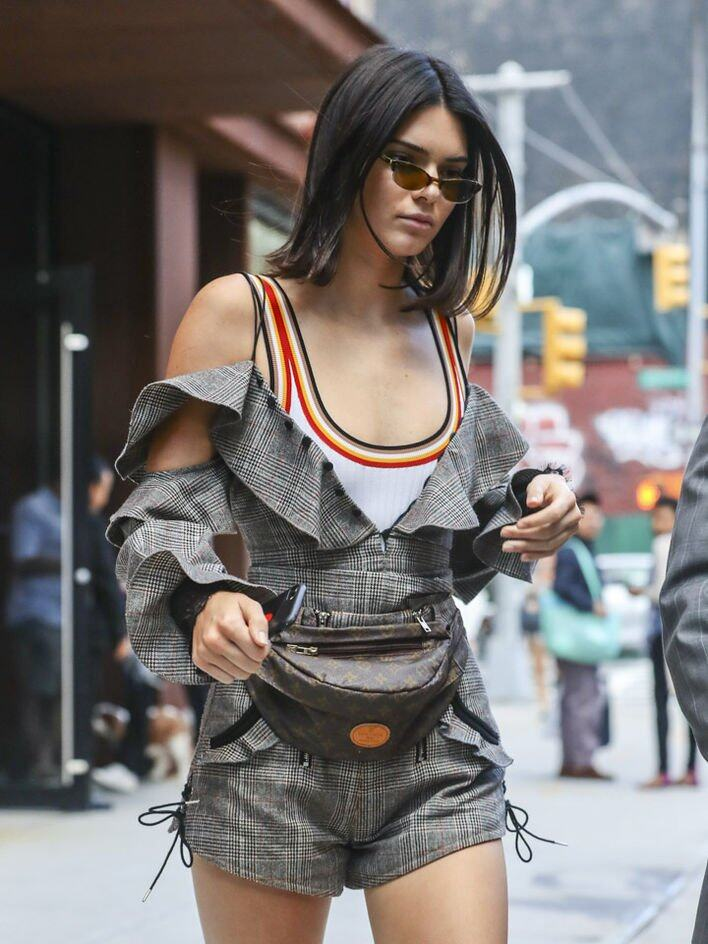 Kendall Jenner Louis Vuitton Fanny pack 腰包