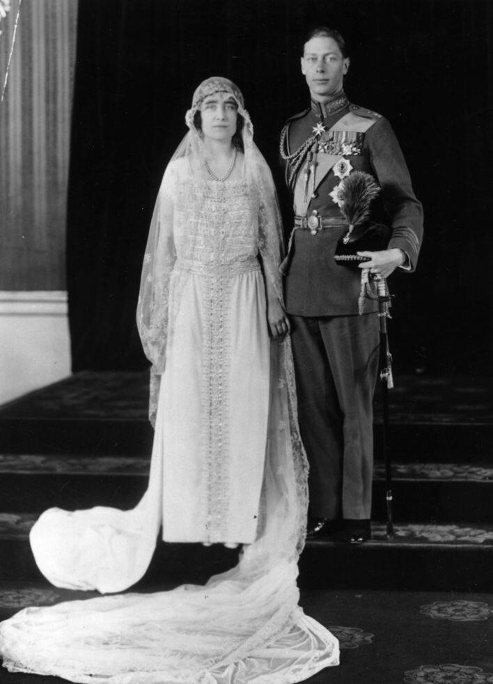 英國皇室 Lady Elizabeth Bowes-Lyon and Prince Albert, Duke of York