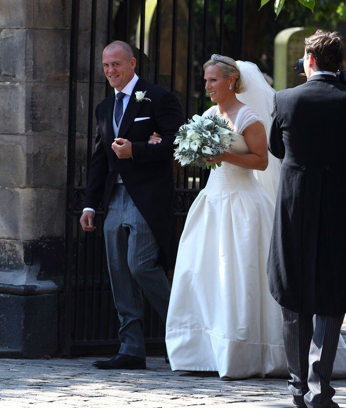 英國皇室 Zara Philipps & Mike Tindall