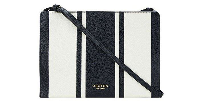 Oroton Avalon Zip Top Crossbody USD$221