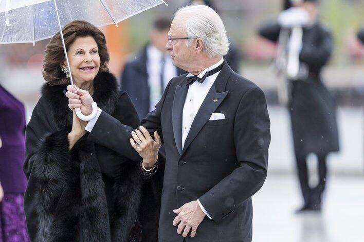 自由戀愛第一人 The King Carl XVI Gustaf 及 Queen Silvia