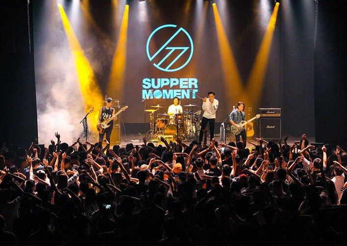 Supper Moment 仍經常於 live house 演出
