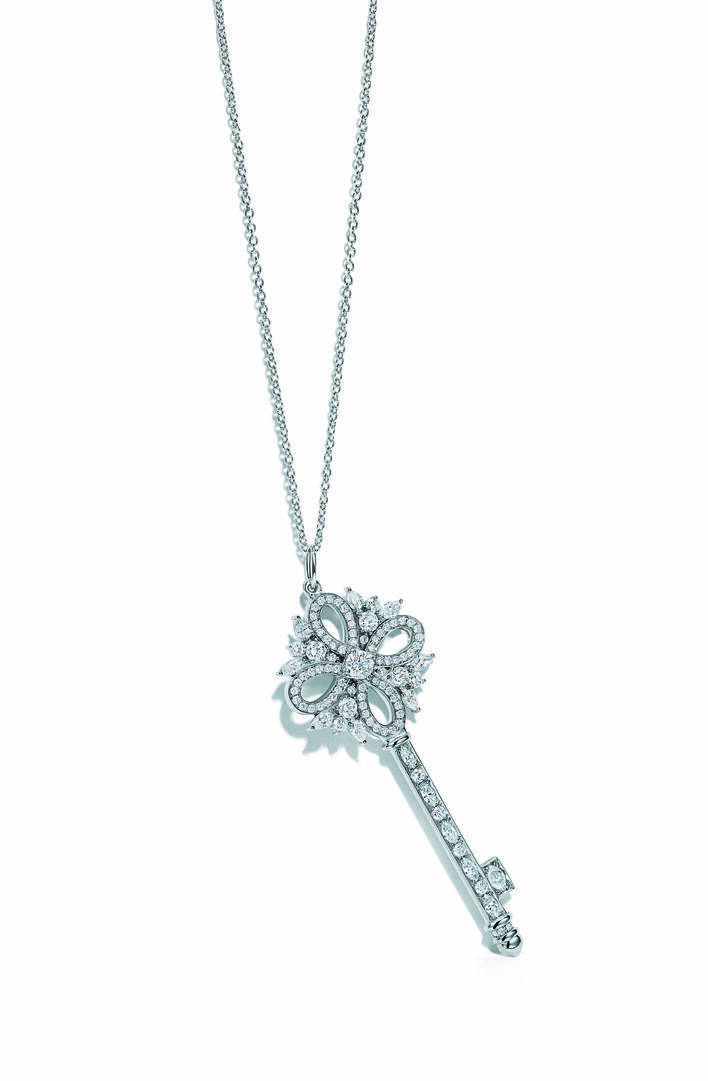 Tiffany & Co. Tiffany Keys 系列鑽石頸鏈 $57,000