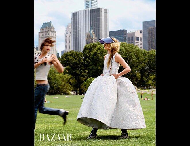 <p>The season's best haute couture and jewelry.</p><p>Dior 高級訂製裙、The Elder Statesman 背心。</p><p> </p>