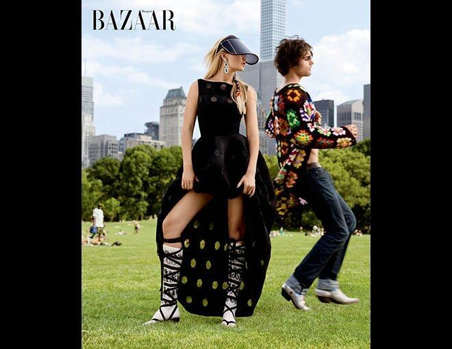 <p>The season's best haute couture and jewelry.</p><p>Azzedine Alaia 連身裙、Reza 耳環。</p>