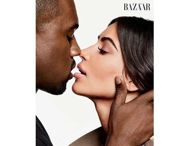 <p> Kim Kardashian West 和 Kanye West 是具 Power 的 #BAZAARIcon。</p>
