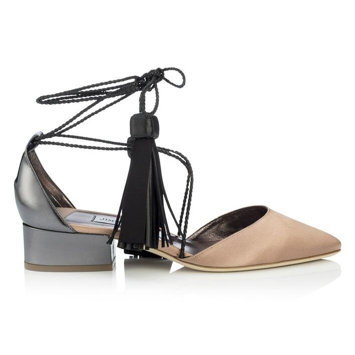 <p class='text-center ' style='text-align:center;'><b>Jimmy Choo lace up 款式涼鞋</b></p>