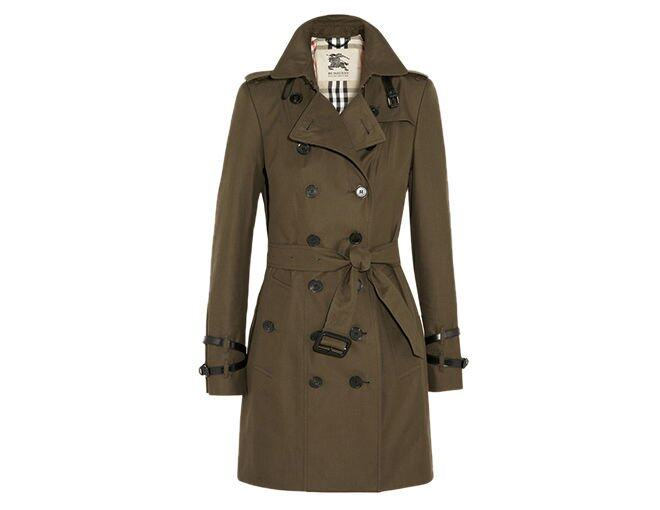 <p> Burberry London<br />$12,790</p><p><a href='http://www.net-a-porter.com/product/391520/Burberry_London/mid-length-cotton-gabardine-trench-coat' target='_self'>www.net-a-porter.com</a></p>