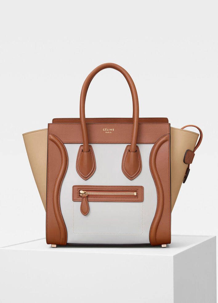 Céline Luggage Bag 手柄設計大方得體