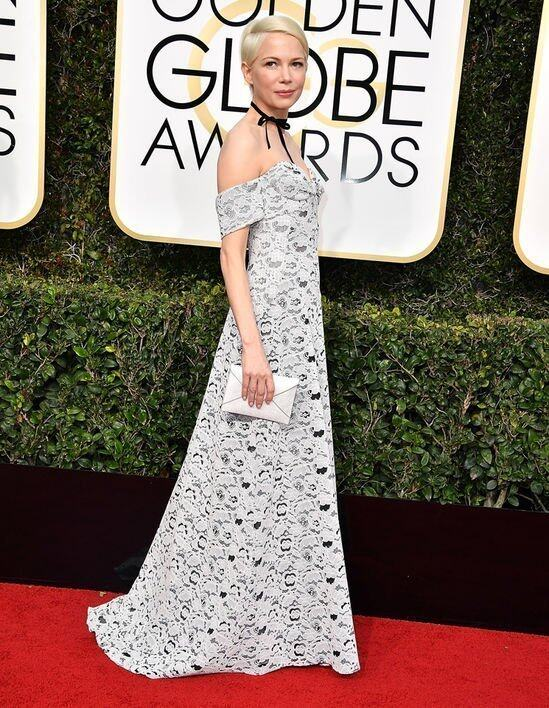 <p class='text-center ' style='text-align:center;'>Michelle Williams @ Golden Globe Awards 2017</p>