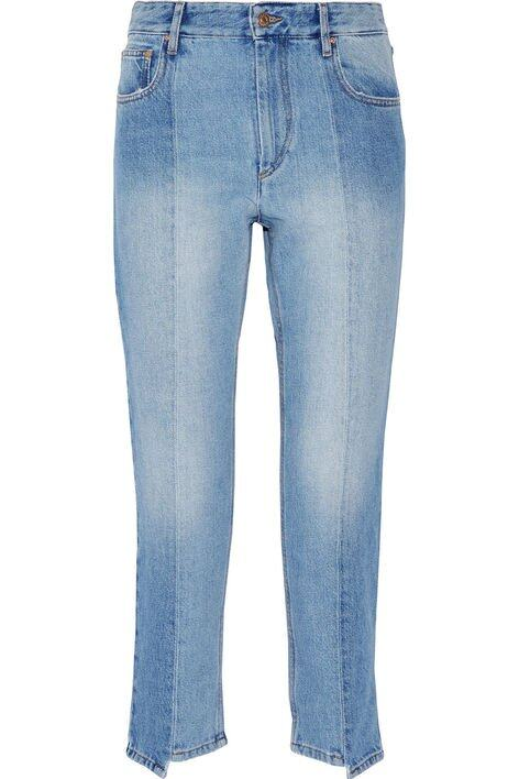 <p class='text-center ' style='text-align:center;'>Isabel Marant Étoile Clancy Cropped High-rise Straight-leg Jeans $2,650</p>