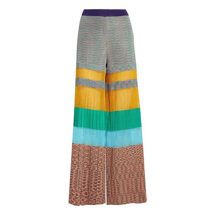 Missoni Pleated Striped Crochet-knit Wide-leg Pants $16,900 (From Net-a-Porter)
