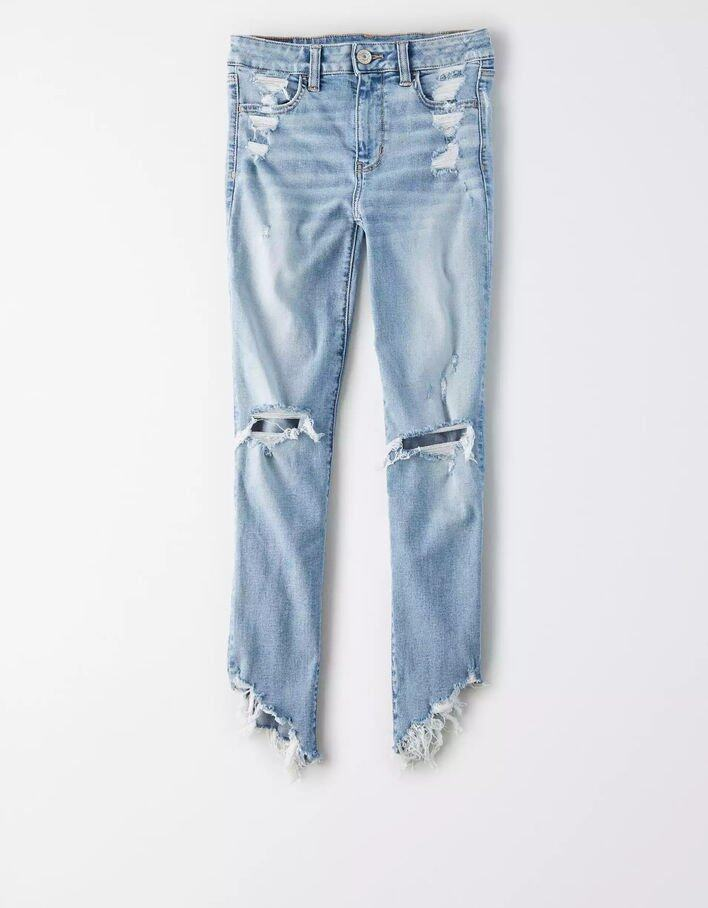 American Eagle 藍色 skinny jeans