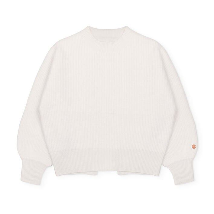 Movers & Cashmere Close to you Cashmere Sweater (Winter White) $625