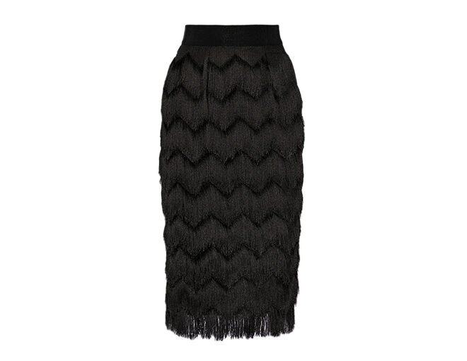 <p> Milly<br />$2,890</p><p><a href='http://www.net-a-porter.com/product/469486/Milly/fringed-woven-skirt' target='_self'>www.net-a-porter.com</a></p>