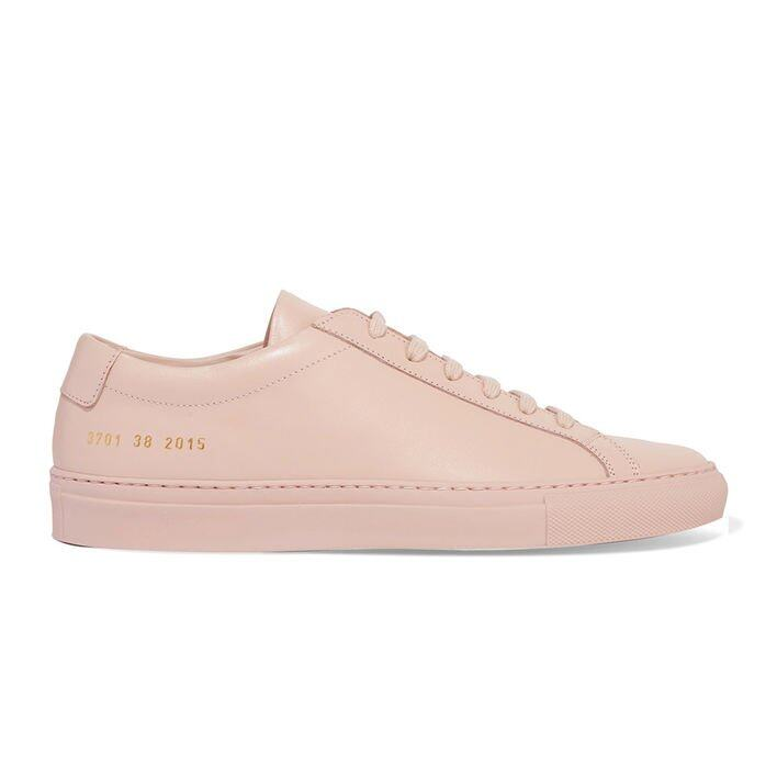 <p>Common Projects Original Achilles Leather Sneakers $2,334</p>