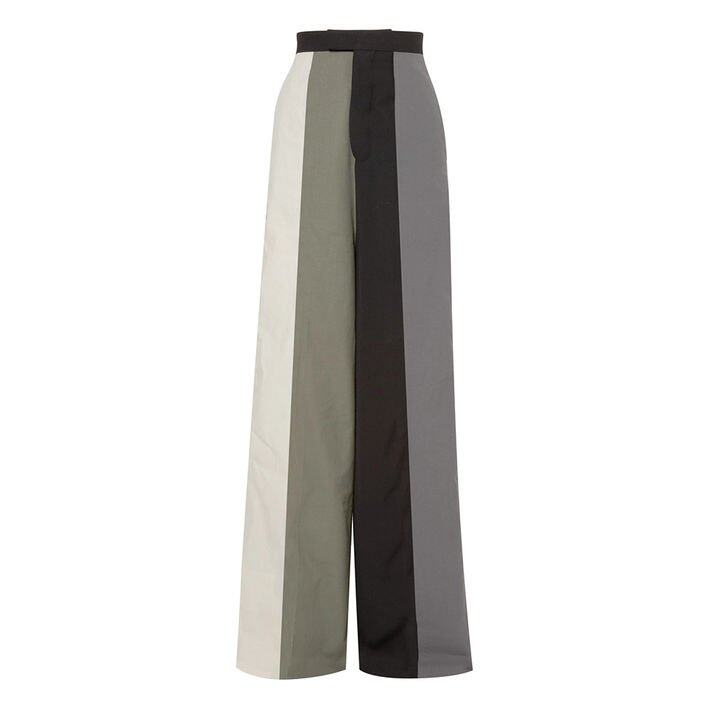 Rick Owens Striped cotton-twill wide-leg pants $2,882 (Net-a-Porter)