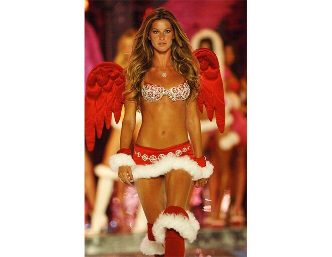 <p>多次被選為 Victoria's Secret Angel 的 Gisele Bündchen 於 2005 便穿上 The Sexy Splendor Fantasy Bra,約 1250萬美元。</p>