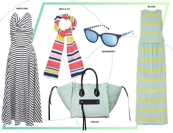 <p> 左一:Maryling<br /> 中間 Scarf :Max &amp; Co.<br /> 中間 Sunglasses:Marimekko<br /> 中間 Handbag:Celine<br />右一:iBule</p><p> </p>