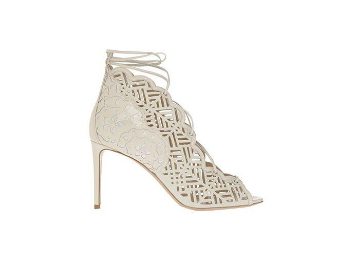 <p> Nicholas Kirkwood Laser-cut Leather Sandals<br />$9,310</p>