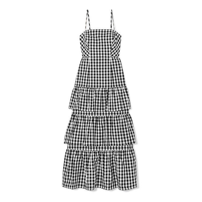 J.CREW Dabble tiered gingham cotton-poplin midi dress $1,820