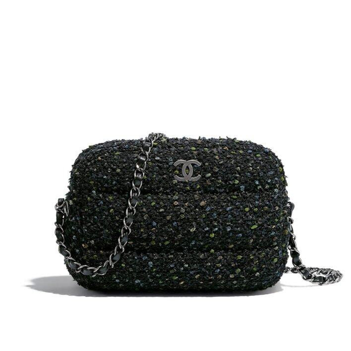 Chanel Tweed 料相機袋