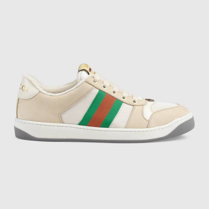 復古感的 Gucci 波鞋:Screener Sneaker