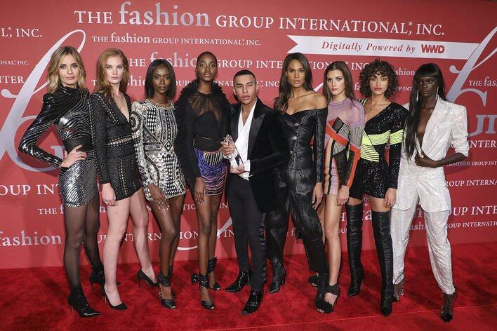 Olivier Rousteing & Balmain Army