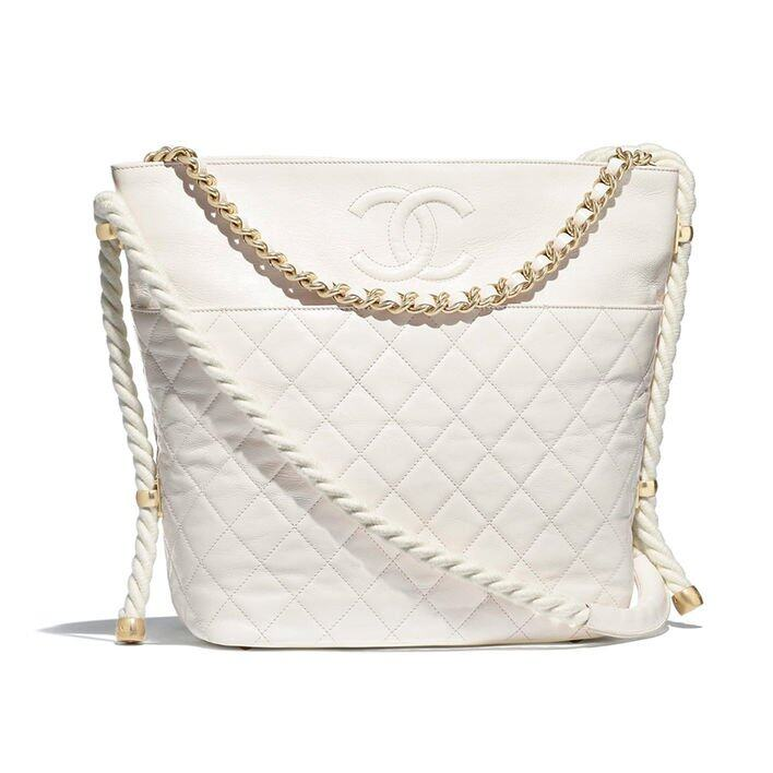 Chanel Hobo Handbag 白色水桶袋 $37,100