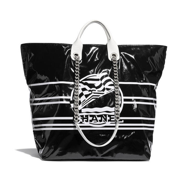 Chanel Large Shopping Bag 黑色手挽袋 $25,900