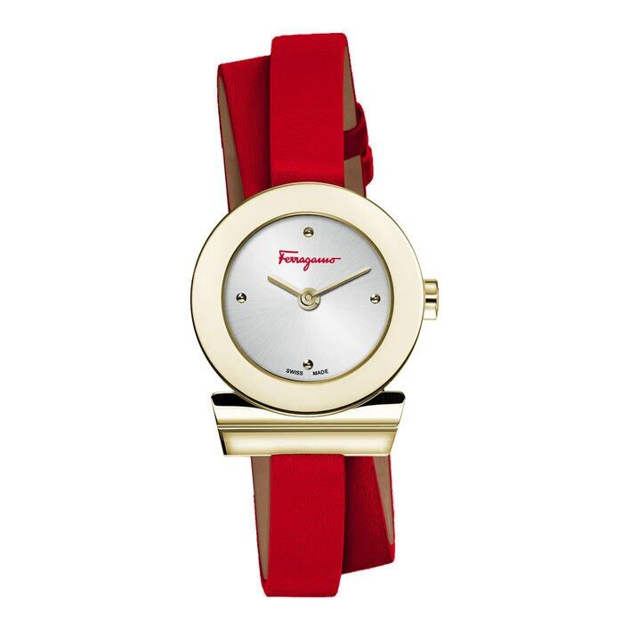 Salvatore Ferragamo watch X YOOX Salvatore Ferragamo 特別推出全新顏色的手錶在 YOOX 上獨家發售。