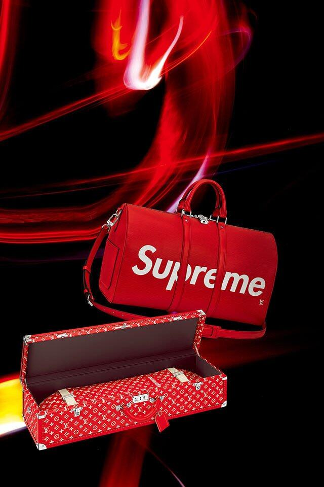 Louis Vuitton Louis Vuitton in Collaboration with Supreme