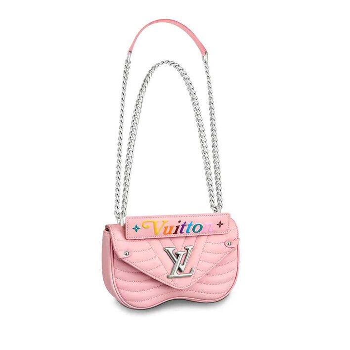 Louis Vuitton New Wave 粉紅色手袋