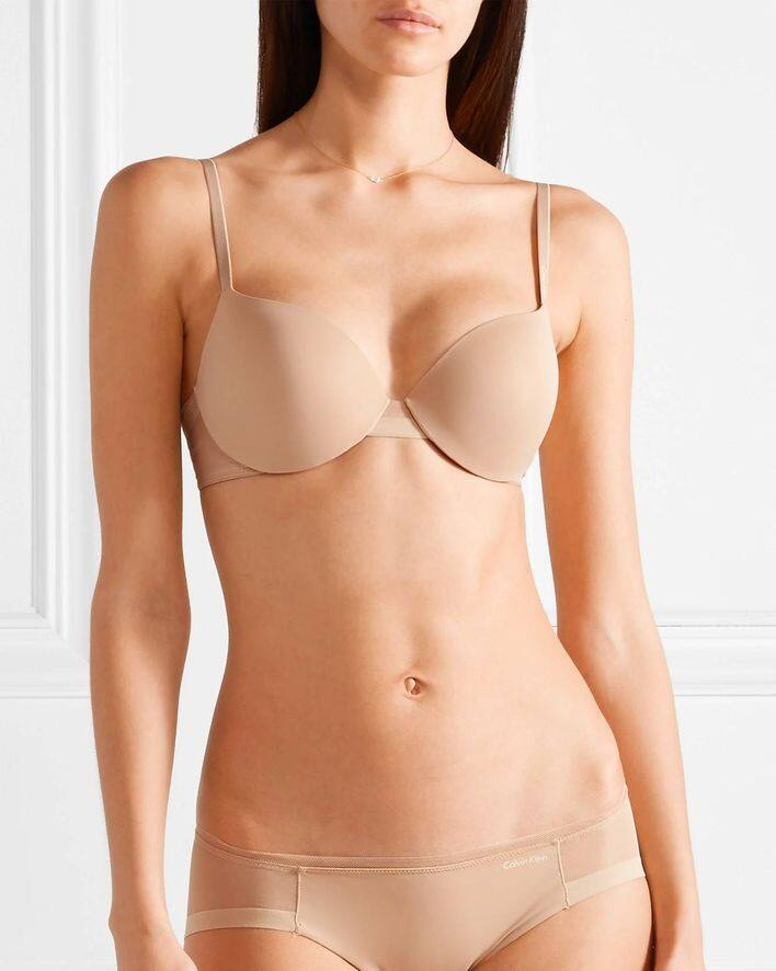 Push up bra x nude bra